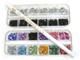 niceEshop(TM) White Wax Rhinestone Picker Pencil/Pen Tool For Nail Art Crafting