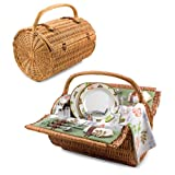 Barrel Picnic Basket-Botanica Collection