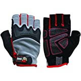Big Time Products Grease Monkey Pro Fingerless Gloves (Medium)