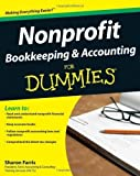 img - for Nonprofit Bookkeeping & Accounting For Dummies 1st (first) Edition by Farris, Sharon published by For Dummies (2009) book / textbook / text book