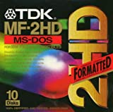 TDK 3.5in DS/HD Floppy Discs (T06050)