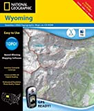 National Geographic Topographical Wyoming (0792284119) by National Geographic Society (U.S.)