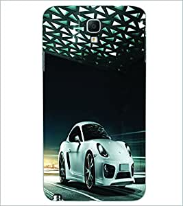 PRINTSWAG SILVER CAR Designer Back Cover Case for SAMSUNG GALAXY NOTE 3 NEO