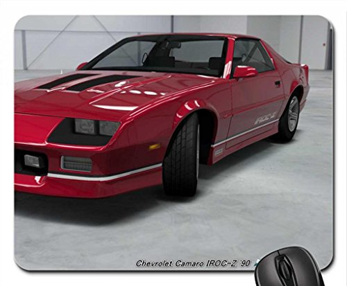 Chevrolet Camaro IROC-Z '90 Mouse Pad, Mousepad (10.2 x 8.3 x 0.12 inches) (Camaro Z28 Mat compare prices)