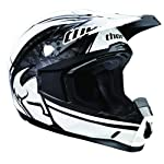 Thor Quadrant Motocross Helmet Splatter Black/White Large L