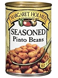 Margaret Holmes Seasoned Pinto Beans, 15 oz (Pack of 6)