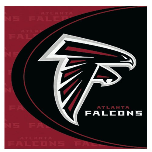 Atlanta Falcons Lunch Napkins (16 count) - 1