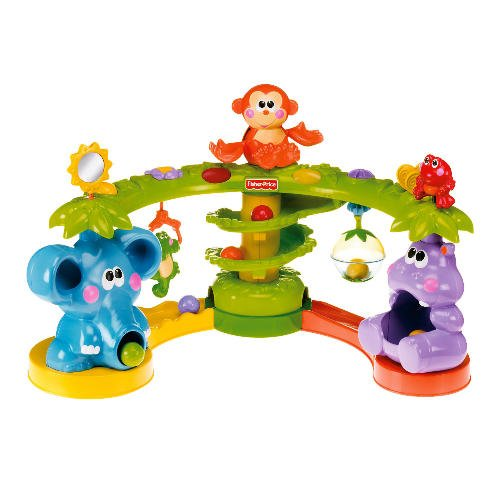 Baby Musical Toys : Fisher price go baby crawl and cruise musical jungle review