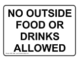 ComplianceSigns Vinyl label, 10 x 7 in. with Food Prep / Kitchen Safety message - White