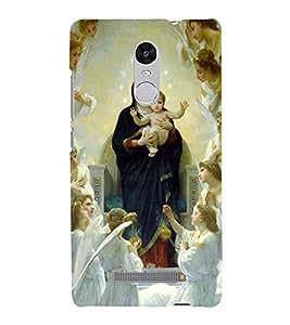 FUSON Lord Jesus Back Case Cover for Xiaomi Redmi Note 3