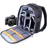 Sac à dos de haute qualité pour appareils photos SLR / reflex Sony Alpha SLT-A77VK, SLT-A77VQ, SLT-A58 & A3000 - lanières rembourrées