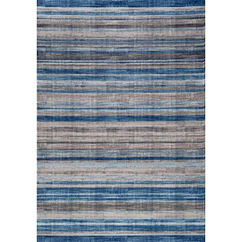 Persian Rugs Multi Colored Modern Accent Lines Area Rug (4'0 x 5'3) (Rugs Target compare prices)