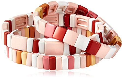 Baja-East-Set-Of-3-Bracelets-In-Blush