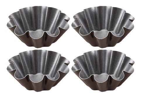Gobel 3-1/2-Inch Brioche Mold, Set of 4, Non-Stick - Buy Gobel 3-1/2-Inch Brioche Mold, Set of 4, Non-Stick - Purchase Gobel 3-1/2-Inch Brioche Mold, Set of 4, Non-Stick (Gobel, Home & Garden, Categories, Kitchen & Dining, Cookware & Baking, Baking, Bakeware Sets)