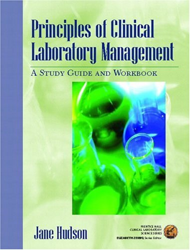 Principles of Clinical Laboratory Management: A Study...