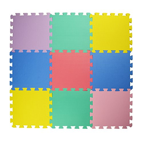 Hippih-9-tile-Multi-color-Kids-Puzzle-Play-Mat-Exercise-Mat-Solid-Foam-EVA-Playmat-Kids-Safety-Play-Floor