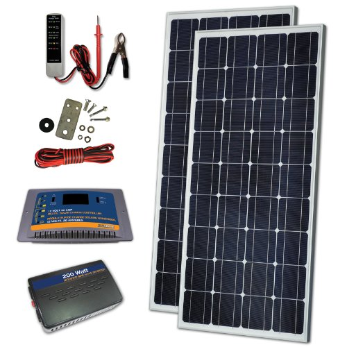 Sunforce 37126 260W Crystalline Solar Kit