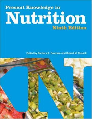 Present Knowledge in Nutrition (Volume 2)