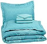 Pinzon 7-Piece Bed In A Bag - Full/Queen, Industrial Vintage Teal