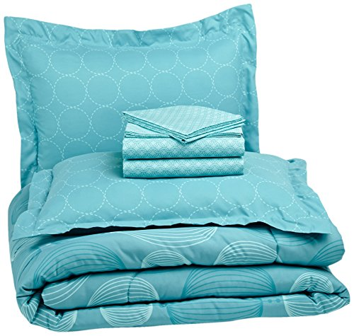 Purchase Pinzon 7-Piece Bed In A Bag - Full/Queen, Industrial Vintage Teal