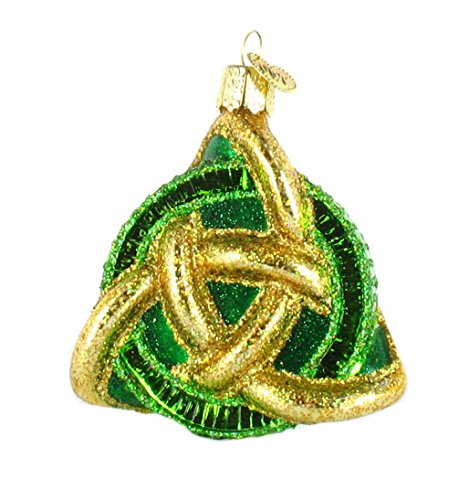 Old World Christmas Trinty Knot Glass Ornament