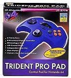 echange, troc N64 Trident Pad Pro bleu