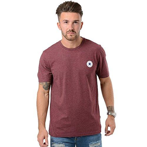 Converse -  T-shirt - Maniche corte  - Uomo Borgogna XX-Large