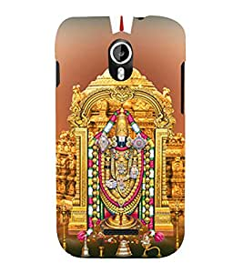 Sri Venkateswara 3D Hard Polycarbonate Designer Back Case Cover for Micromax Canvas Magnus A117