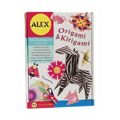 Click To Alex Origami and Kirigami Kit Details