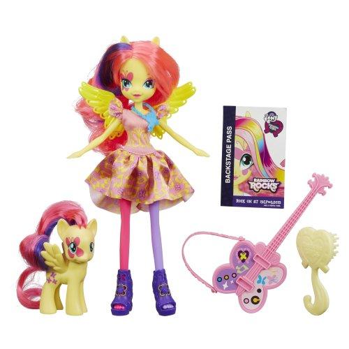My little pony equestria girl dolls fluttershy - photo#29