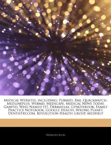 articles-on-medical-websites-including-pubmed-bmj-quackwatch-medlineplus-webmd-medscape-medical-news