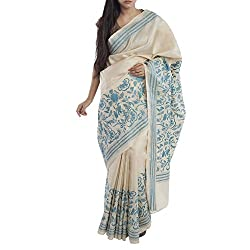 Kiara Crafts Tussar Silk Saree (kc-029_Beige)