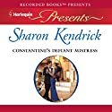 Constantine's Defiant Mistress Audiobook by Sharon Kendrick Narrated by Maggie Mash