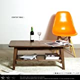 センターテーブル ブルーノ 95サイズ /ウォールナット/引出し収納付き/天然木