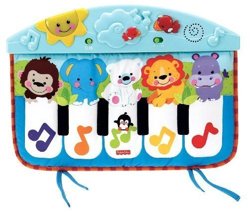 Fisher-Price Precious Planet Kick And Play Piano back-828881