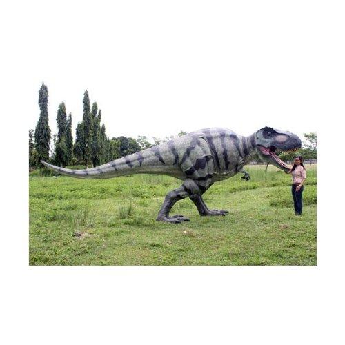 高さ2.3m超!ティラノサウルス T-REX 巨大フィギュア(恐竜等身大フィギュア)