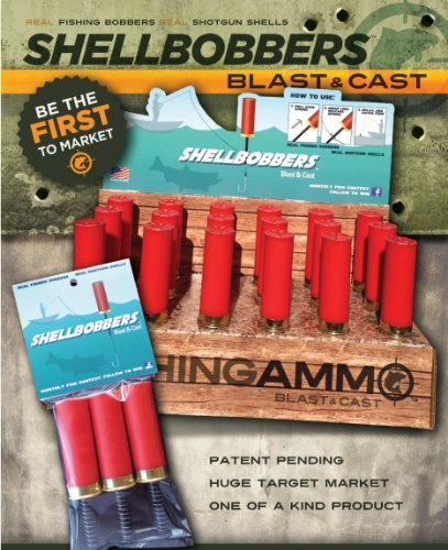 Fishing Ammo  Shell Bobbers 3 Pack