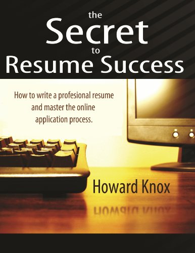 The Secret To Resume Success