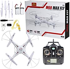 Holy Stone RC Quadcopter w/ HD Camera(Photo/Video) Come with 2 Batteries 4CH 2.4GHz,equipted with Headless Security System,M68R(Plus) RC Drone