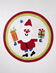 Santa Design Bath Mat