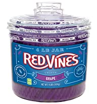 Grape Vines Twists Licorice Candy, 4…
