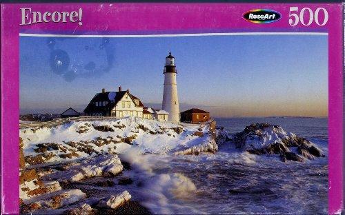 """Encore! 500 """"Cape, Elizabeth, Maine"""" No. 06052 Puzzle Casse-Tete - 1"""