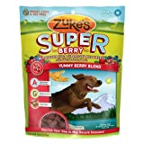 Zukes Supers Nutritious Soft Superfood Dog Treats, Yummy Berry Blend, 6-Ounce