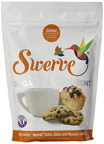 Swerve Sweetener, Granuler, 16 Ounce