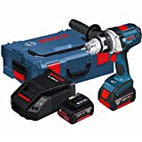 Bosch GSR18VE-2-LI 18V Cordless Robust Series Drill Driver in L-Boxx (2x 4.0Ah Batteries)