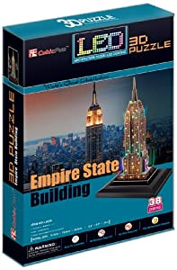 State Building New York USA 3D LED Puzzle Toys Games