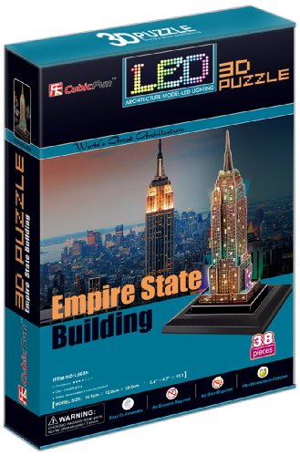 Cubic Fun Empire State Building(U.S.A), 38 pieces