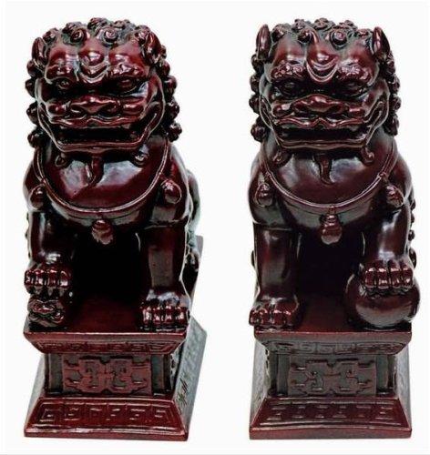 Foo dog statue temple - photo#25