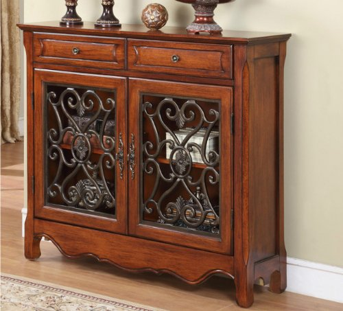 Old World Tuscan Style Decor Furniture Wood Scroll