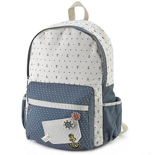 Sac à dos toile propre/sacs à dos d'étudiants